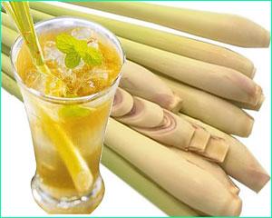 น้ำตะไคร้ ใช้เป็นยาสมุนไพรไทยรักษา อาการท้องอืด ท้องเฟ้อ