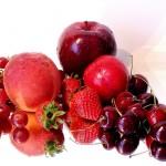 ผักและผลไม้ที่มีสีแดง