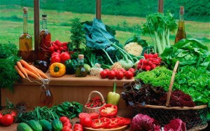 ผักและผลไม้5สี